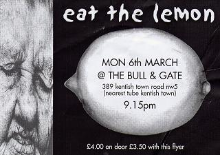 The Bull and Gate - 2000